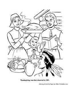 the first thanksgiving coloring pages pics photos first thanksgiving coloring page featuring