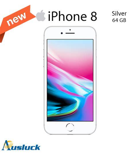 Original Iphone 8 64gb Gold Silver New Resmi 1tahun apple iphone 8 64gb silver unlocked brand new mq6l2x a