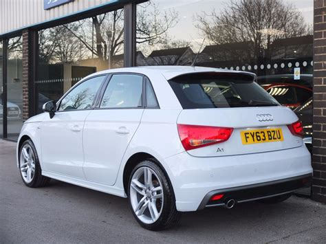 audi a1 5 door white used audi a1 sportback 1 6 tdi s line 5 door for sale in