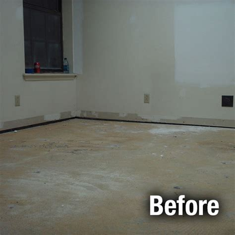 concrete floor repair  leveling services garage floor