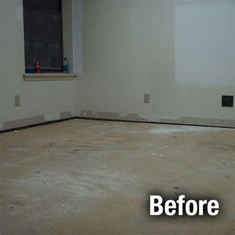 concrete floor repair  leveling services garage floor