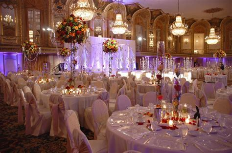 Reception hall decor designs, banquet event decoration
