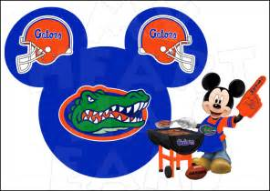 florida gators football with mickey mouse instant download