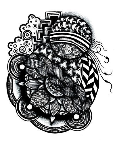 Society Doodle zentangle print society 6 oodles of doodles and more