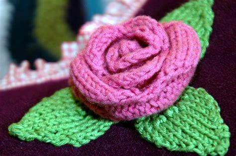 knitting pattern rose flower knitting patterns in the loop knitting