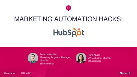 marketing automation hacks hubspot