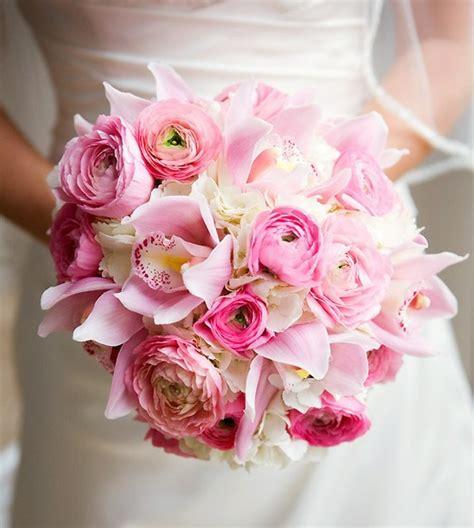 pink wedding flower bouquets pictures pink wedding bouquet