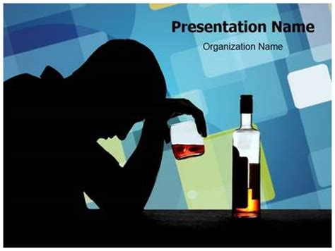 alcoholic powerpoint template background