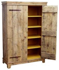 Wood Kitchen Storage Cabinets Rustic Barnwood Kitchen Cabinet Rustic Storage Cabinets By Ecofirstart
