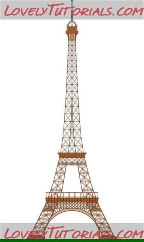 Eiffel Tower Templates Sugar Paste Pinterest Eiffel Tower Cake Template