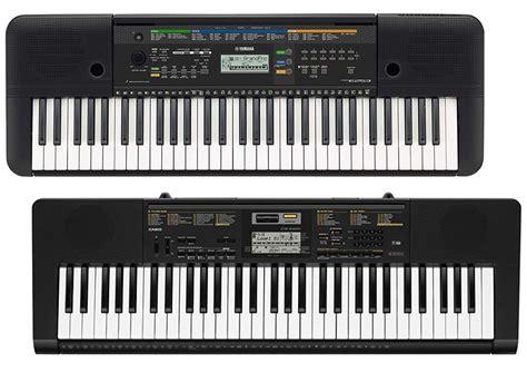 yamaha or casio keyboard which is better yamaha psr e253 vs casio ctk 2400 musicalvs
