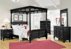 Black Canopy Bed Big Lots Bedroom Furniture Plantation Cove Black Canopy Bed