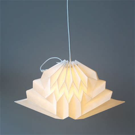 How To Make A Paper Light Shade - shop origami paper l shades on wanelo