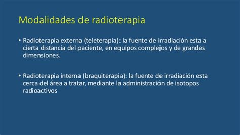 radioterapia interna radioterapia