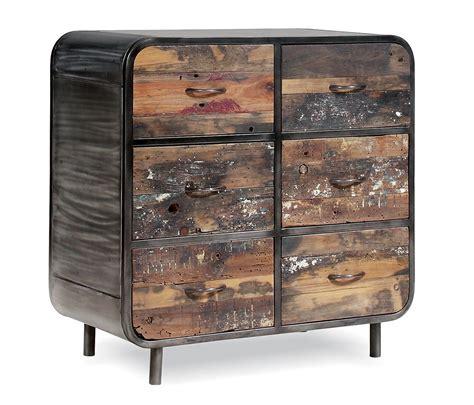Vintage 6 Drawer Dresser by Vintage Industrial 6 Drawer Chest Dresser Shropshire Design