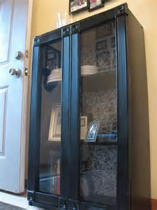 add glass doors to bookcase add doors to a cheap bookcase craft ideas diy