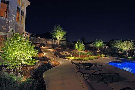 Outdoor Lighting Milwaukee Backyard Lighting Exles Traditional Patio Milwaukee By World Class Outdoor Lighting