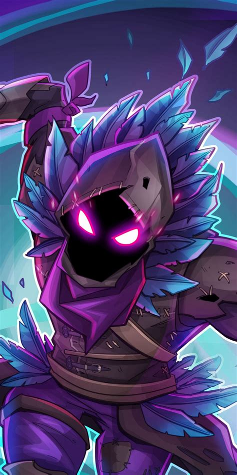 raven wallpaper fortnite battle royale creature game