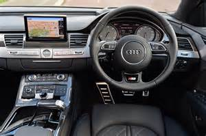 Audi S8 Interior New Audi S8 Plus 2016 Uk Review Pictures Auto Express