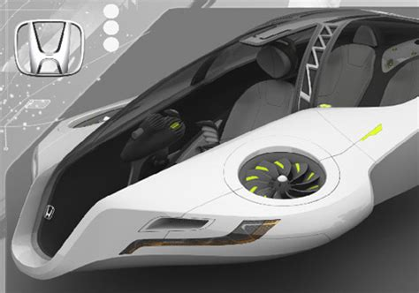 honda flying car honda fuz o futuristic flying car concept autoevolution