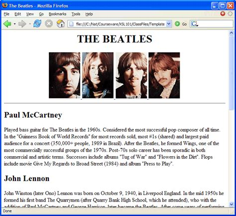 let s take a look at one beatle element in the xml