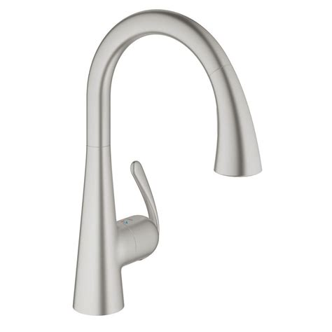 grohe faucet kitchen grohe ladylux cafe single handle pull down sprayer kitchen