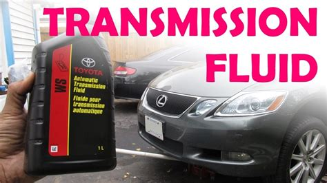 Toyota Transmission Fluid Change Toyota Lexus Sealed Ws Transmission Fluid Change