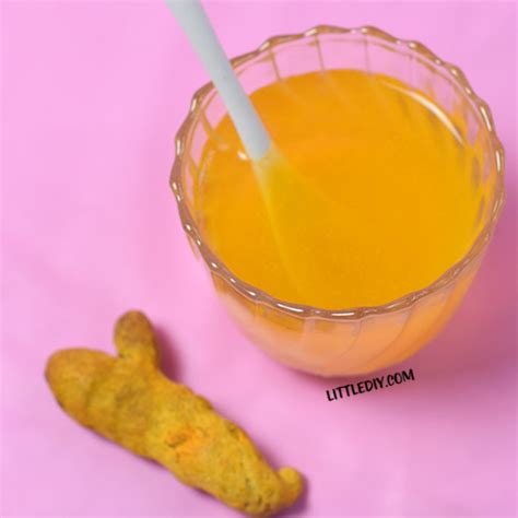 Turmeric Detox Drinks by Morning Turmeric Detox Drink Littlediy
