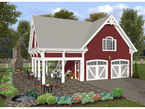 purcell craftsman apartment plan   house plans