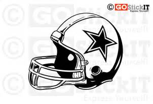 Cowboy Wall Stickers dallas cowboy helmet clipart 37