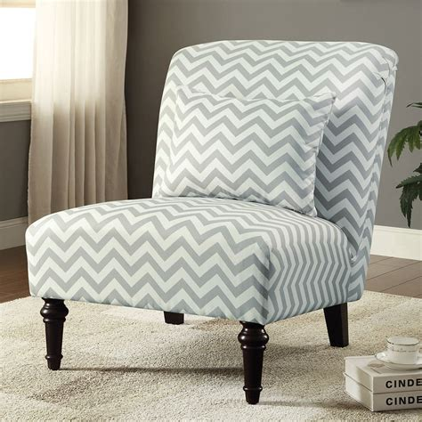 chevron chairs woven accent chair white grey chevron by coaster