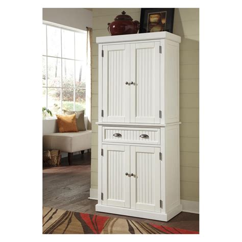 white kitchen pantry cabinet home styles nantucket pantry distressed white pantry