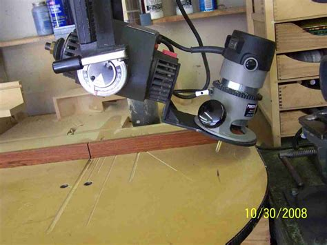 Powrkraft Radial Arm Saw Routing Page 2 Router Forums