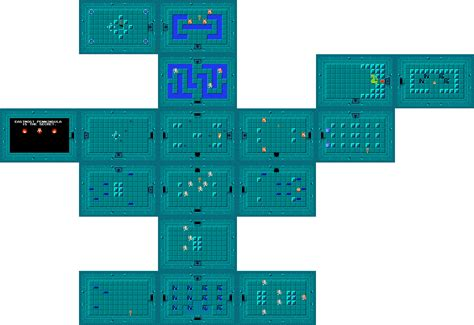 legend of zelda bomb map nes zelda bomb map