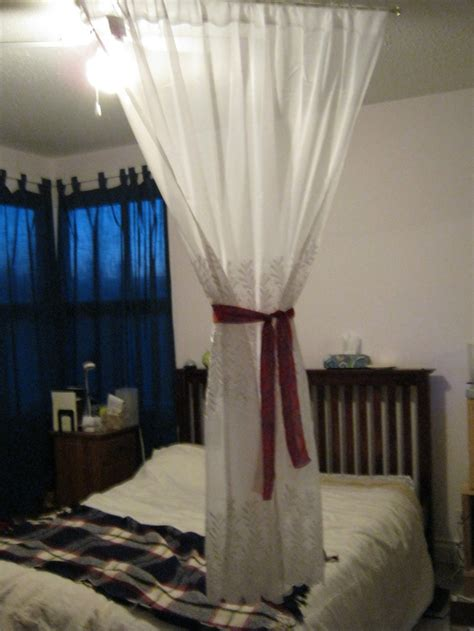 diy canopy bed with curtain rods 17 best images about diy recycling craft kids on pinterest