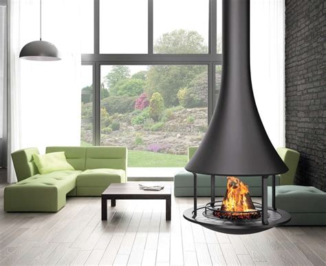 raumtrenner kamin 661 zelia 908 hanging fireplace by jc bordelet