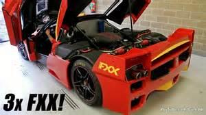 Fxx Engine 3x Enzo Fxx Evoluzione Engine Warm Up