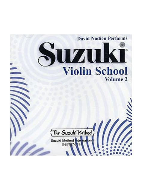 Suzuki Volume 2 Violin Suzuki Violin School Volume 2 Violin Cd Tuition Dvd