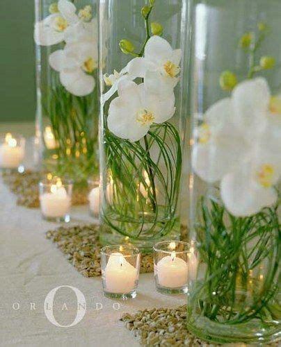 orchid centerpiece wedding pinterest