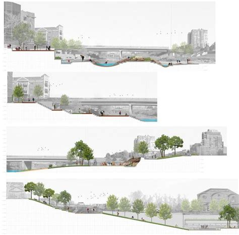 cross section architecture best 25 landscape architecture section ideas on pinterest