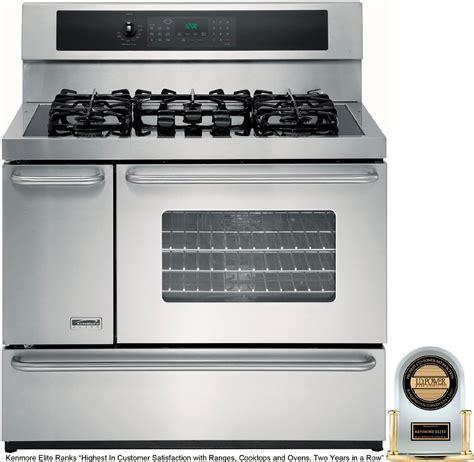 40 gas range kenmore elite 40 quot dual fuel range accurate easy cooking