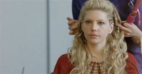 lagertha hair tutorial quot vikings quot cast speaking about hairstyles