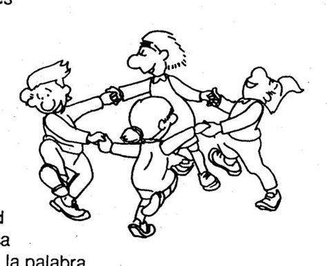 imagenes de niños jugando rondas para colorear colorear dibujos de cholo dibujo de ninos jugando la