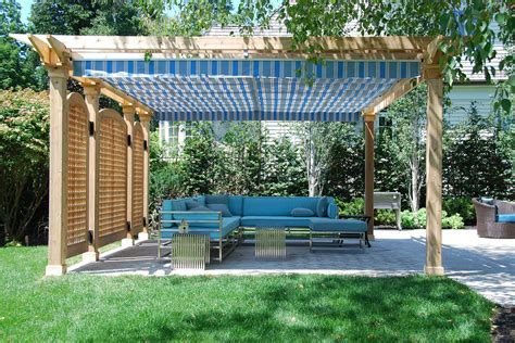 pergola with shade pergolas with retractable canopy exle pixelmari com