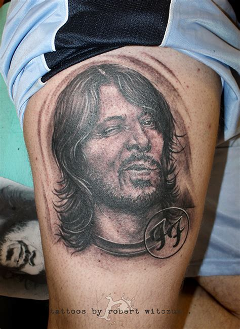 dave grohl tattoos dave grohl robert witczuk tattoos