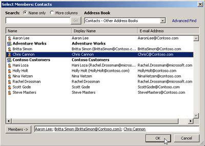 membuat email outlook 2010 membuat contact group pada outlook 2010 id id technet