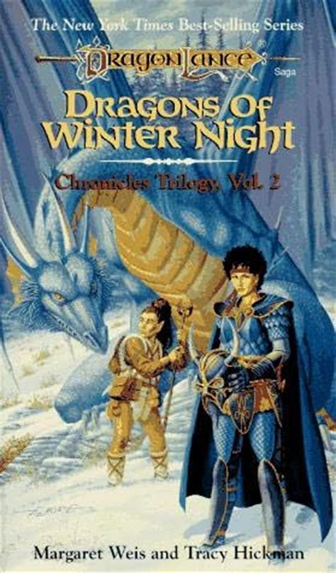 the second winter books dragons of winter dragonlance chronicles book 2