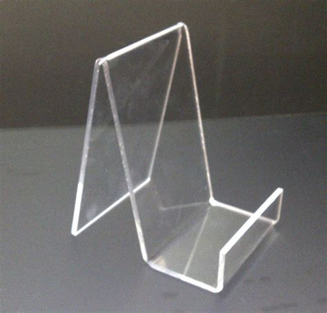 acrylic stand 5 x small acrylic book stand perspex retail display stand plate holder ebay