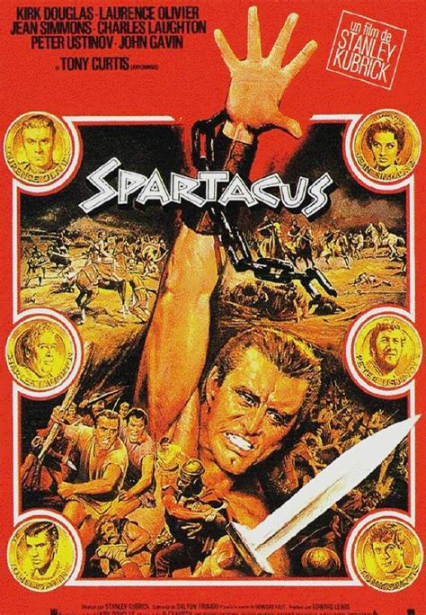 movie posters 2038   posters for movieid 332 spartacus 1960 by stanley kubrick