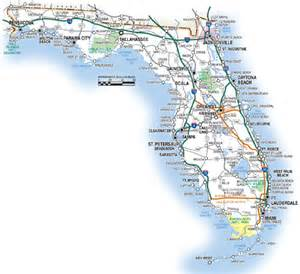 Road Map Of Florida by Florida Road Map Images